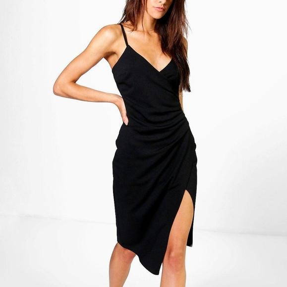 9b8599ab38785 Boohoo Dresses   Brand New Inna Strappy Wrap Dress   Poshmark